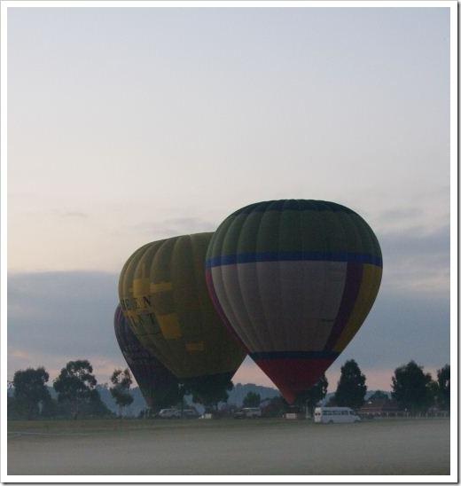 Lilydale Hot Air Balloon
