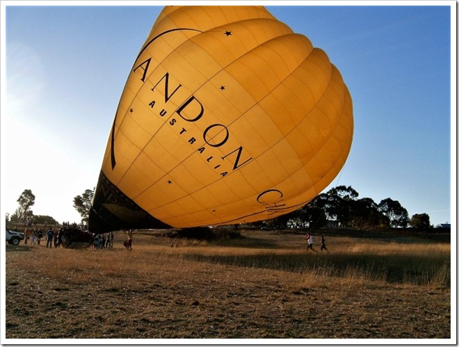 Chandon Hot Air Balloon - VH-ADV