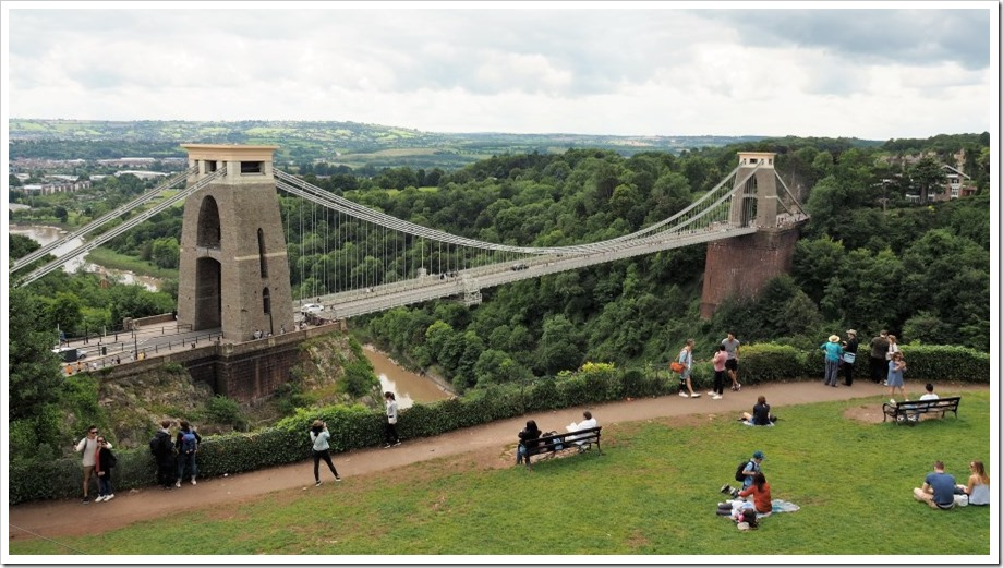 Clifton Suspension Bridge  from 360