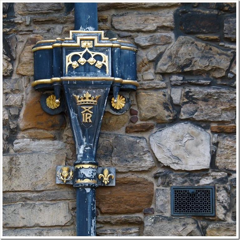 Edinburgh Castle Downpipe