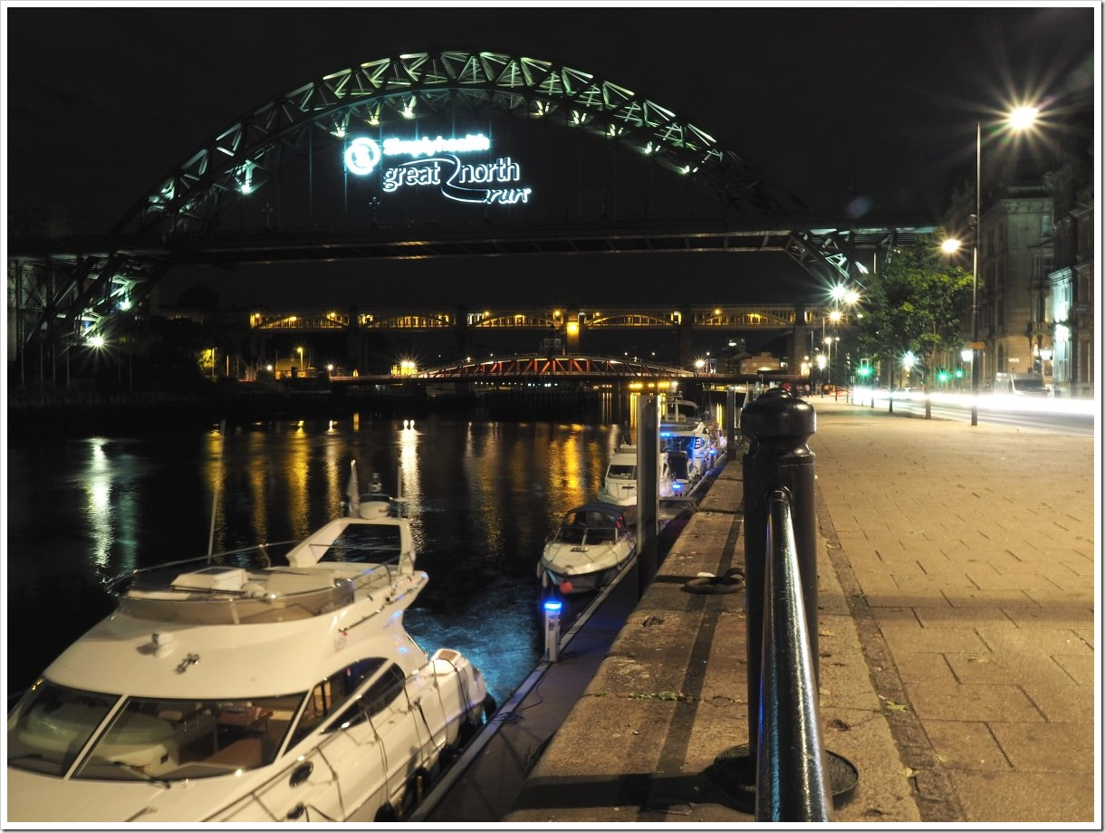 Newcastle Bridges Night
