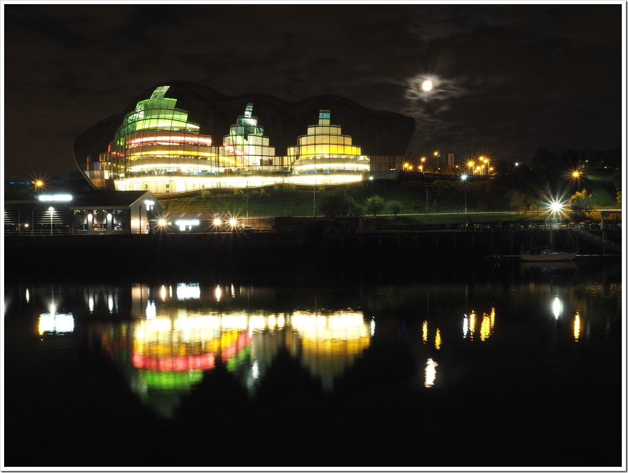 Sage Gateshead Night
