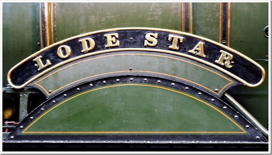 Lode Star Nameplate
