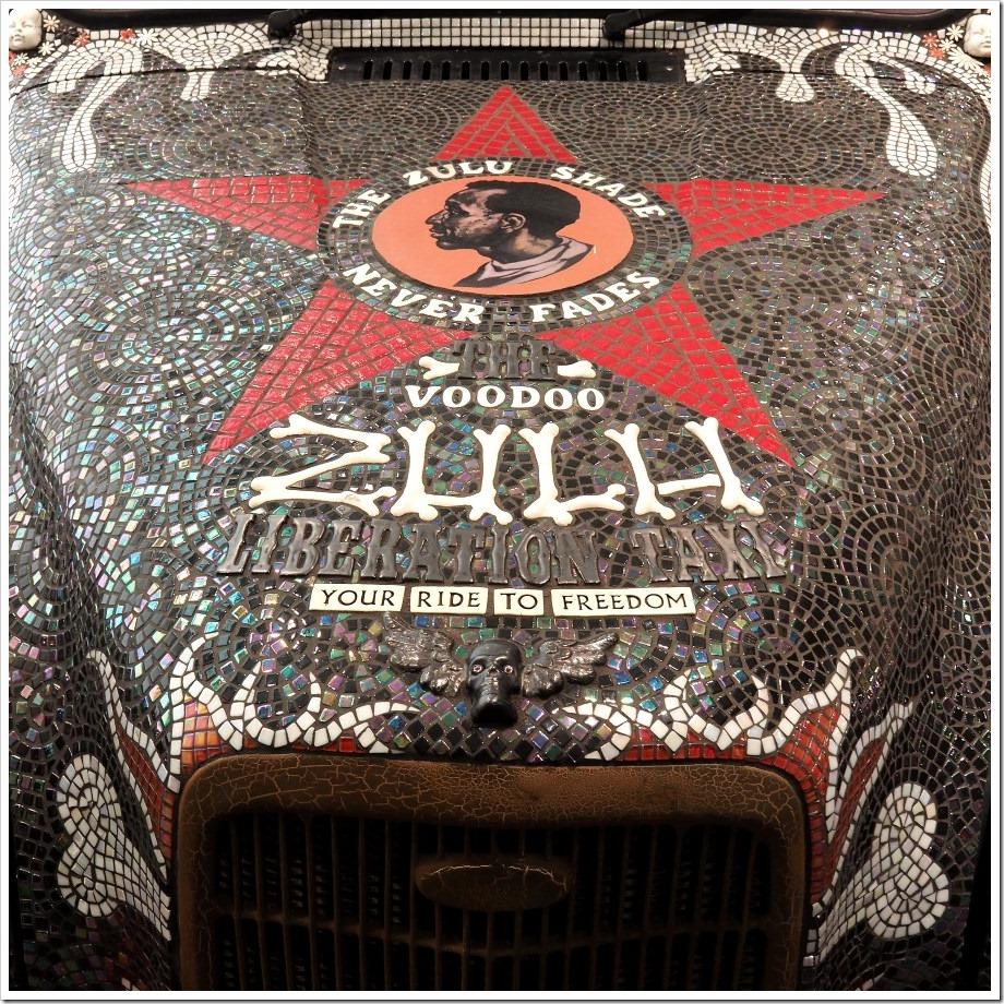 Zulu Liberation Taxi Bonnet