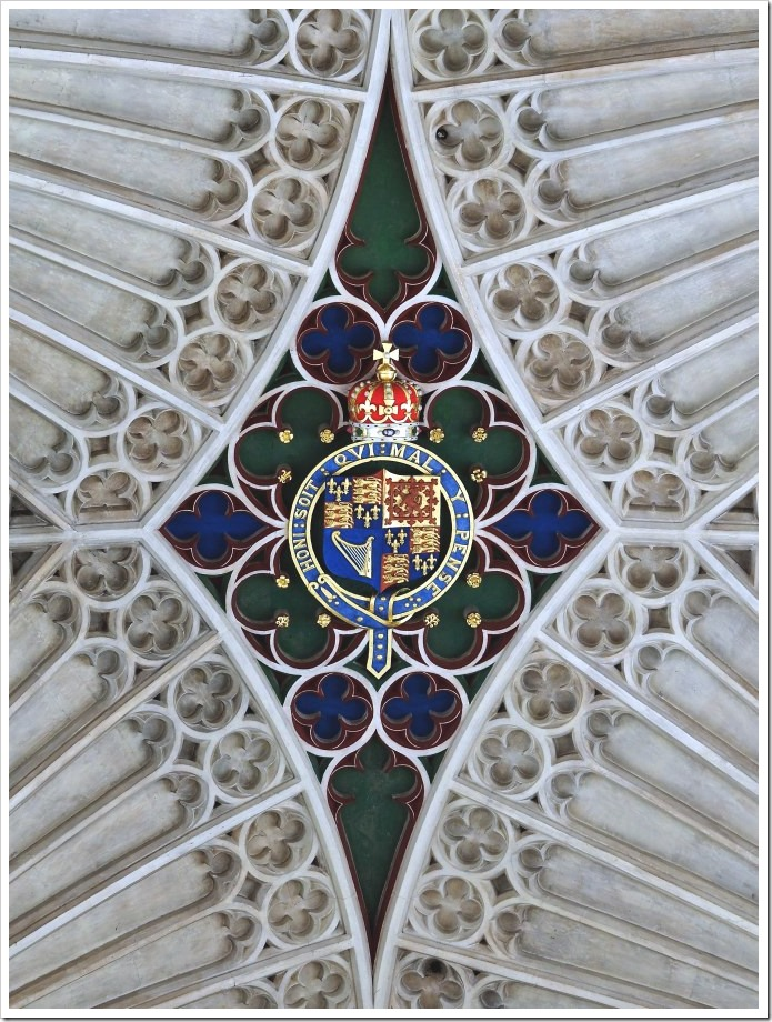 Bath Abbey Ceiling #2