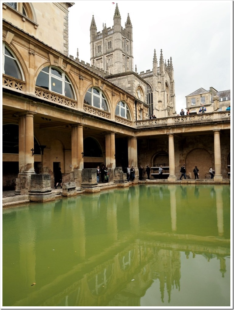 The Great Bath and Abbey
