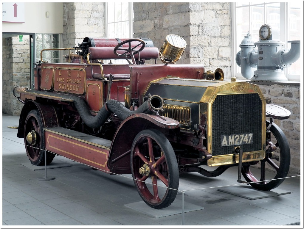 GWR 1912 Dennis Fire Engine