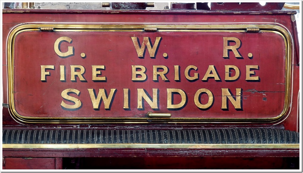 GWR Fire Brigade Swindon