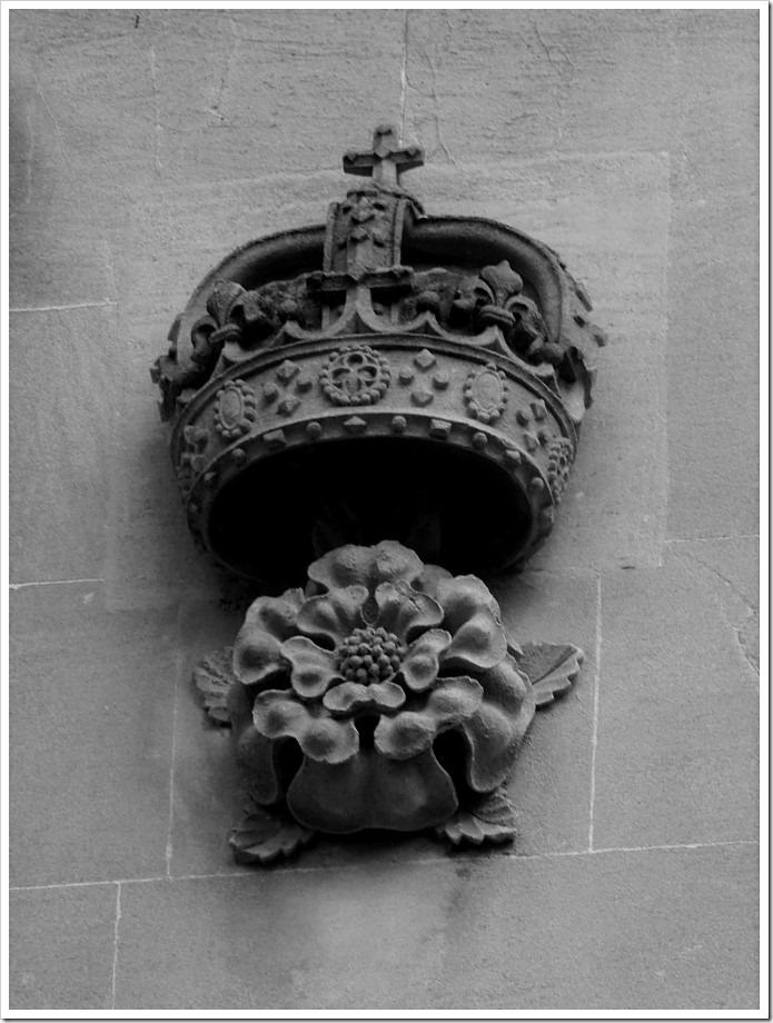 Crowned Tudor Rose