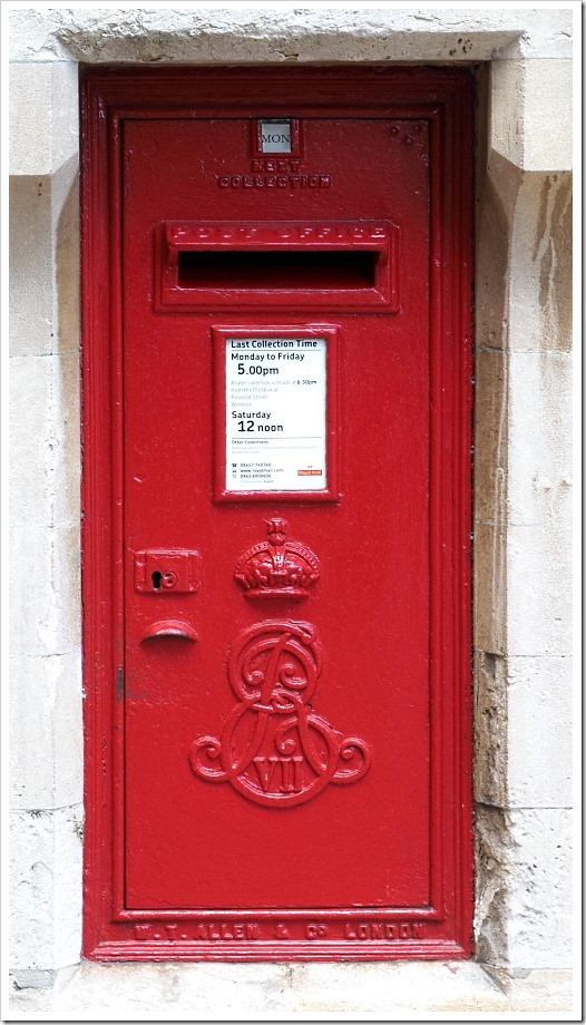 Edward 7th Post Box