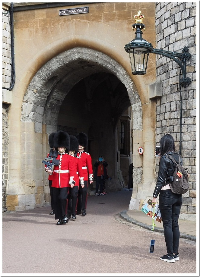 Windsor Castle Guardsmen