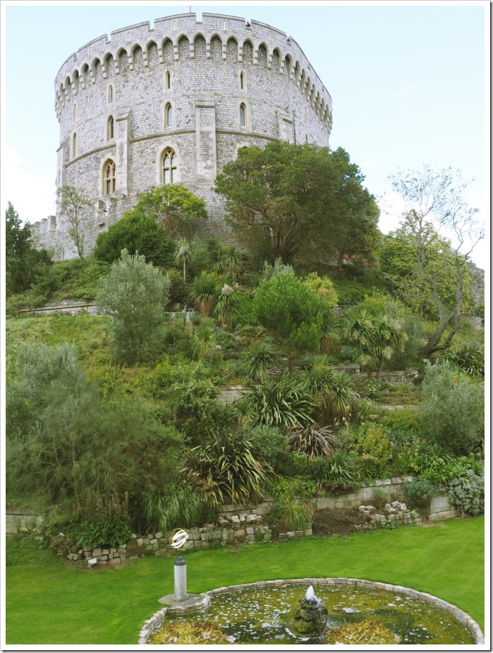 Windsor Round Tower and Moat