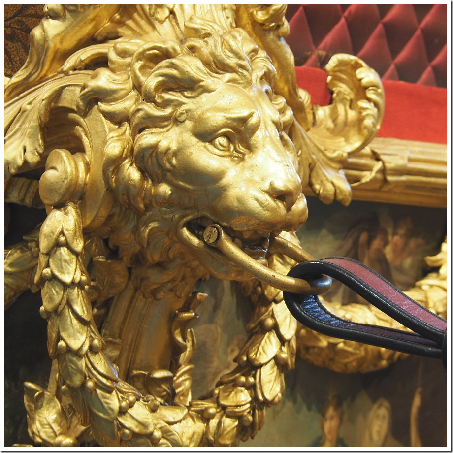 Gold State Coach - Lion