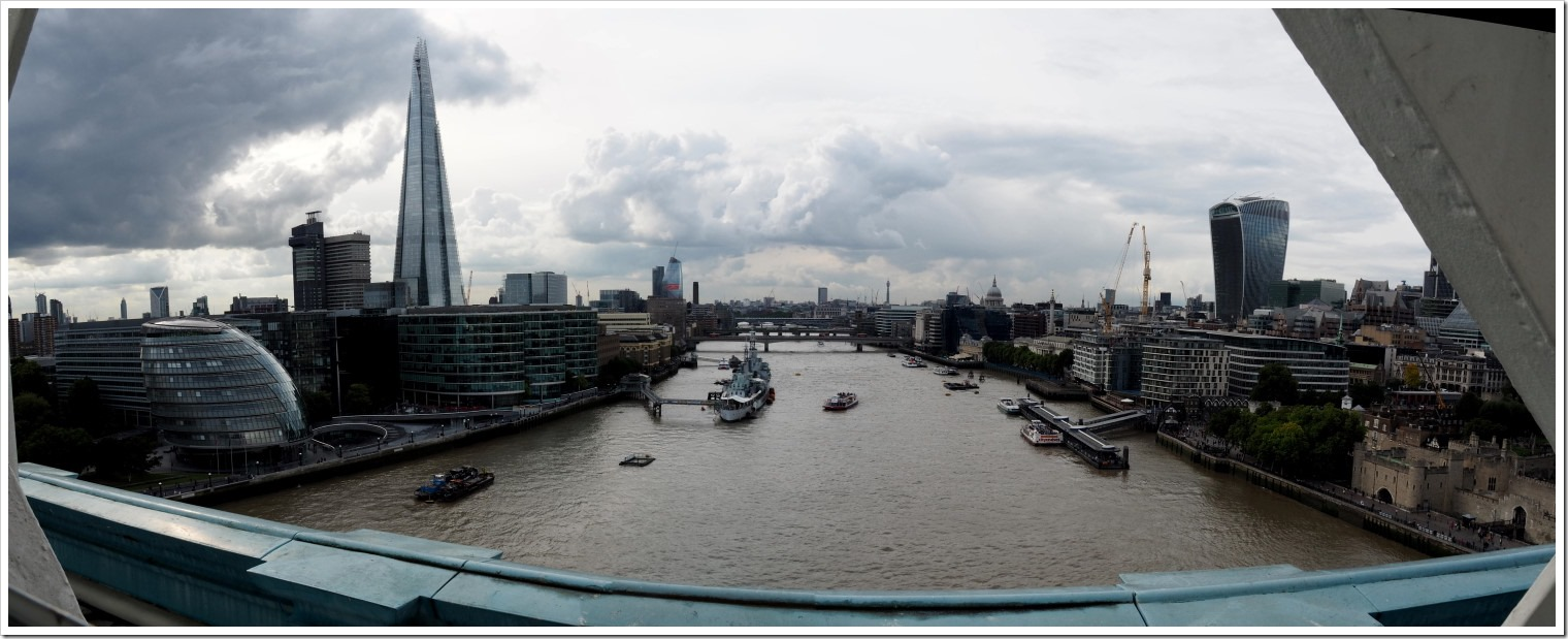 River Thames from Tower Bridge