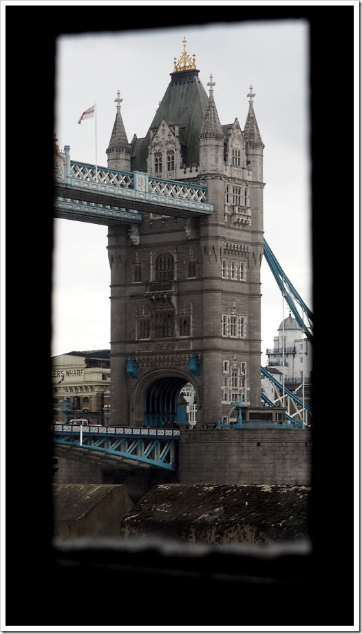 Tower Bridge Through the Window 2