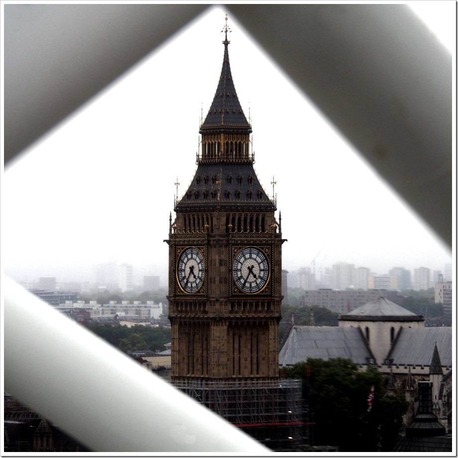 Big Ben Framed
