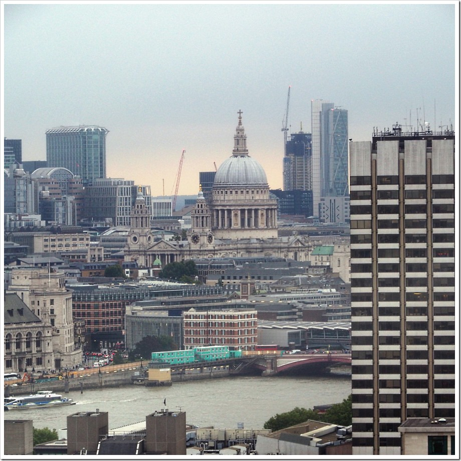 St Pauls from The Eye