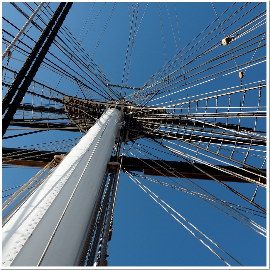 Blue Skies and Rigging