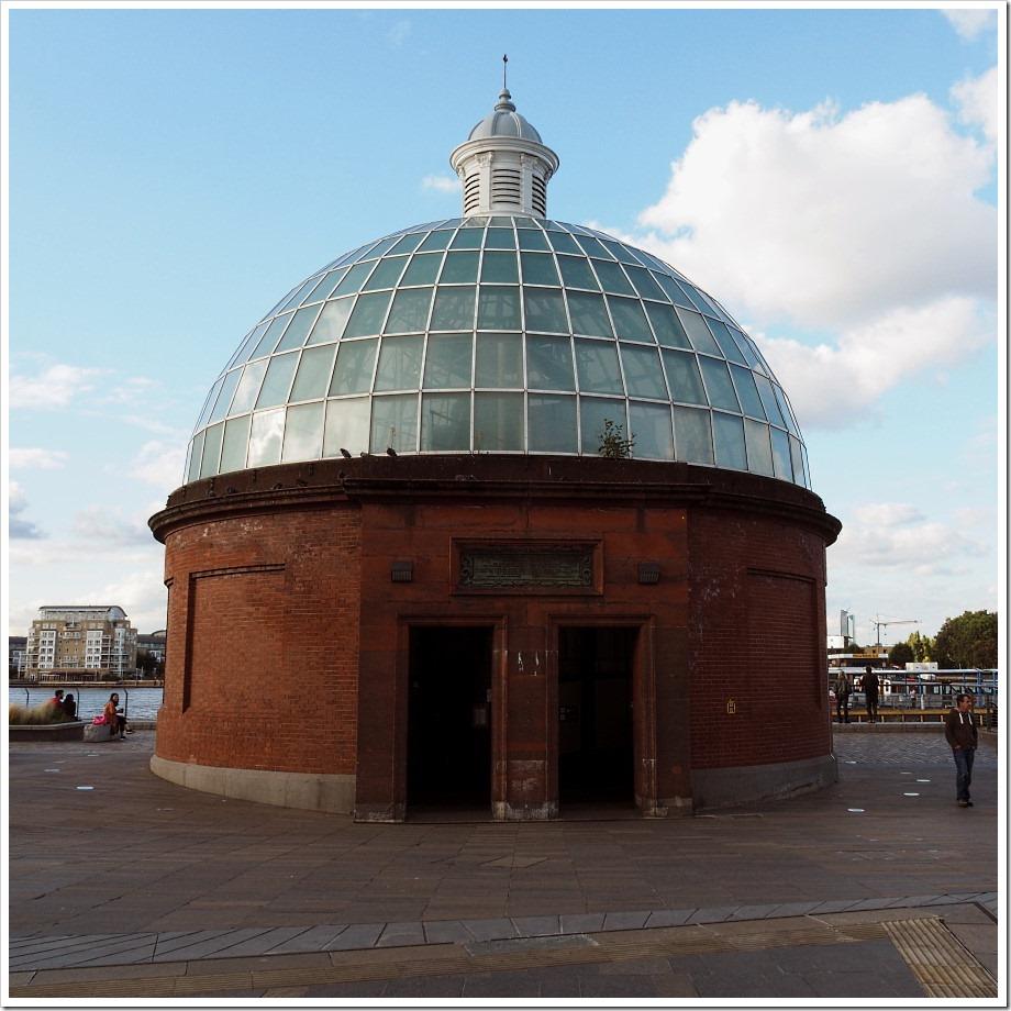 Greenwich Tunnel Entrance
