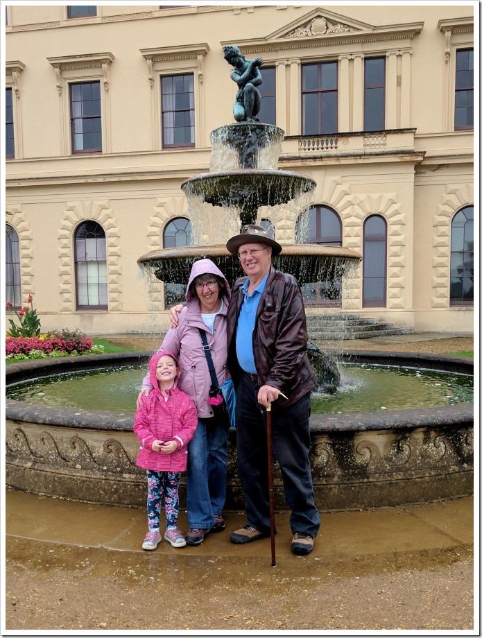 Grandparents at Osborne House