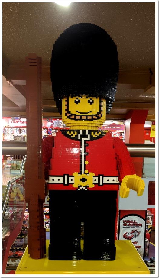 Hamleys Lego Guardsman